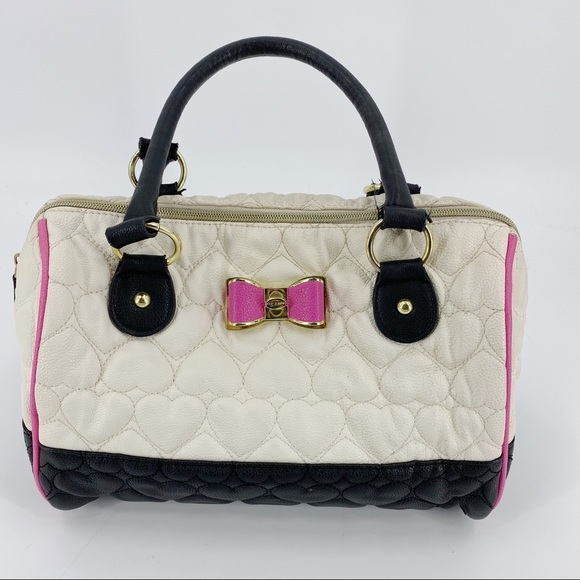 Betsey Johnson bag with bow in the front